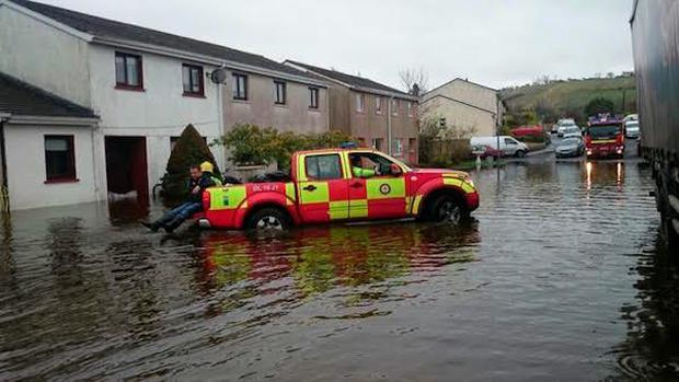Weather: Flooding in Sligo, Donegal and Cork - power outages