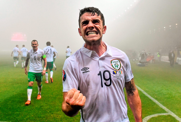 Robbie Brady's goal in Zenica was part of a surreal night given events elsewhere in Europe