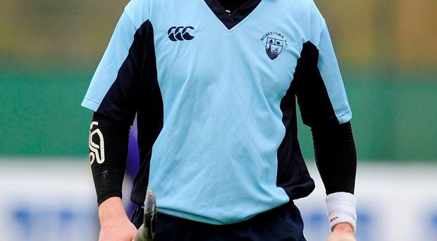 Gareth Watkins knocked in a hat-trick for Monkstown