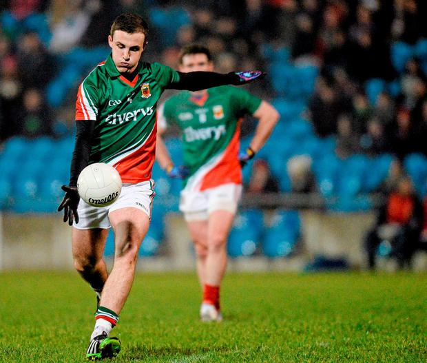 Darren Coen kicked the first couple of scores at the start of the second-half