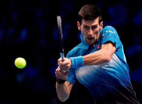 Djokovic subjected Nishikori to an array of heavy-duty groundstrokes, cruel lobs and sublime volleys
