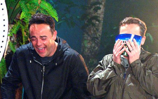 ***EMBARGO, NOT TO BE USED BEFORE 21.00 15 NOV 2015 - EDITORIAL USE ONLY - NO MERCHANDISING*** Mandatory Credit: Photo by ITV/REX Shutterstock (5369644u) Ant and Dec, BTT - Bush Tucker Trial, 'Hellevated' 'I'm a Celebrity, Get Me Out Of Here!' TV Programme, Australia - 15 Nov 2015