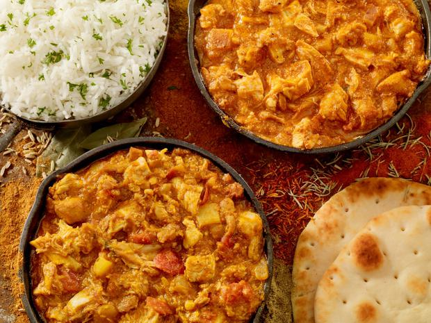 The average portion of Tikka Masala can measure up to 1,249 calories