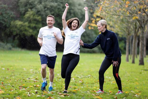 TV presenter Aidan Power will be part of the Orbis Ireland team crossing the finish line of the Great Ethiopian Run next week in Addis Ababa, who together have raised more than 150,000 for the eyesight-saving charity.