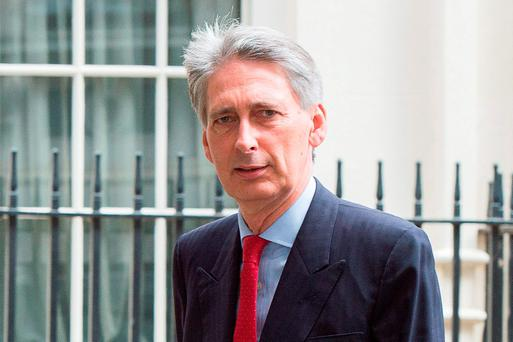 File photo: Foreign Secretary Philip Hammond. Photo: Laura Lean/PA Wire