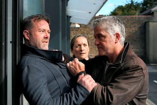 Cathal (left) played by Eric Lalor