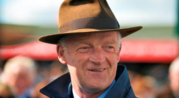 Trainer Willie Mullins has entered the exciting six-year-old for the Grade Two contest over an extended two miles and five furlongs