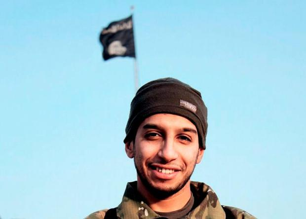 Suspected attack mastermind Abdelhamid Abaaoud. 'The link between Abaaoud and Brussels-based Saleh Abdeslam constitutes a worrying development for Europe's security services: that precisely planned attacks involving several people and sophisticated logistics can be orchestrated from Isis's power base inside Syria'