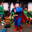Republic of Ireland equipment officer Dick Redmond and players celebrate after Bosnia game