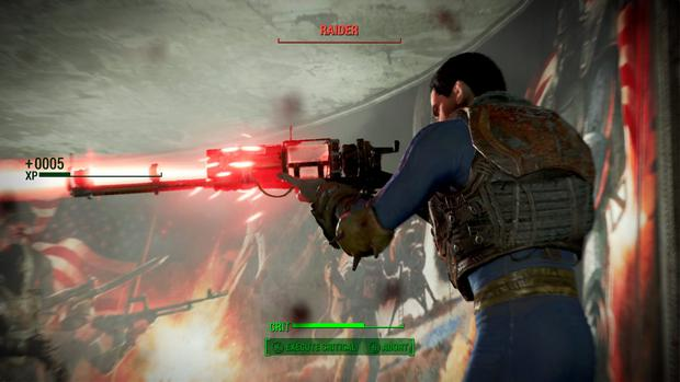 Fallout 4: Deep RPG systems and amazing assortment of weapons