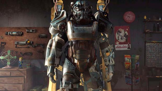 Fallout 4: These suits of armour are scattered throughout the game but require constant scouting for fuel cells