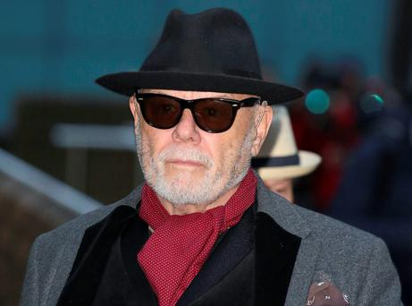 Gary Glitter, real name Paul Gadd, who was found guilty of sexually abusing three schoolgirls, has lost a challenge against his conviction today. Philip Toscano/PA Wire