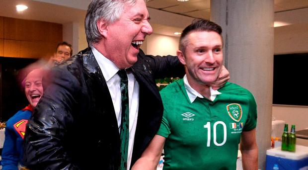 FAI Chief Executive John Delaney could have 20 million reasons to be happy with last night's result