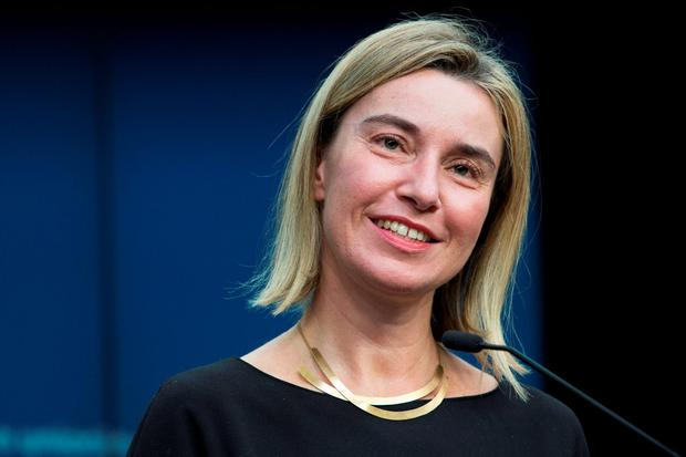 The development does, in the words of EU foreign policy chief Federica Mogherini, show that the EU really is a union and a community