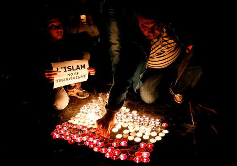 Murder, the most horrendous act of terrorism, is strictly forbidden in Islam