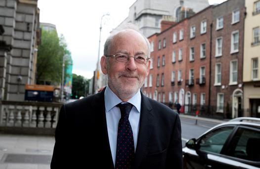 Outgoing Central Bank Governor Professor Patrick Honohan