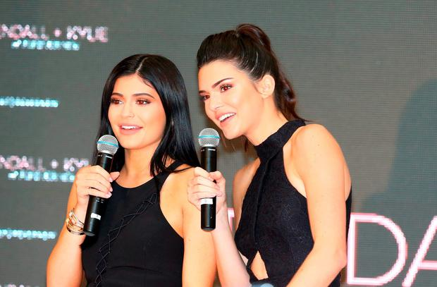 Kendall Jenner and Kylie Jenner arrive at Chadstone Shopping Centre on November 18, 2015 in Melbourne, Australia. (Photo by Scott Barbour/Getty Images)
