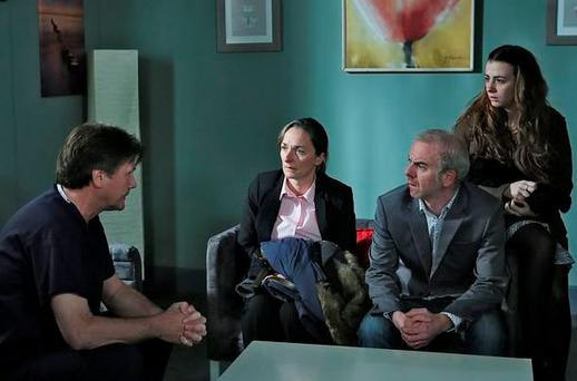 The O'Briens wait for news on Michael
