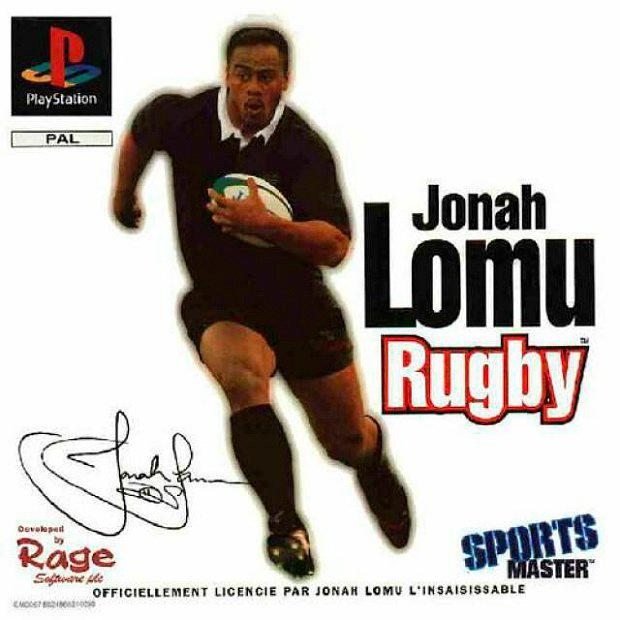 Jonah Lomu Rugby for Playstation - Classic.