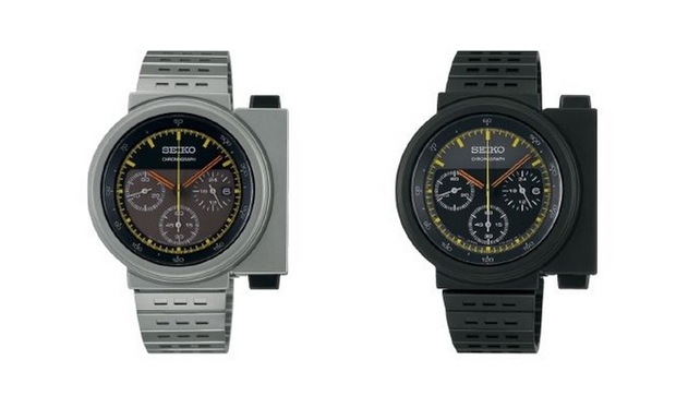 The re-issued Giugiaro 7A28-7000 Seiko watch Credit: Seiko website