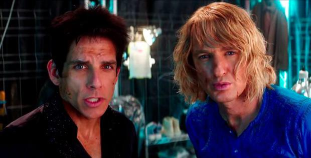 Ben Stiller and Owen Wilson in Zoolander 2