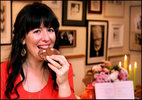 Designer Chupi Sweetman who relaxes by making 'Dirty Chocolate Chip Cookies'