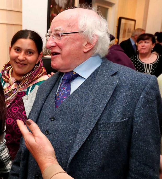 President Michael D Higgins says the needs of Travellers are not being met