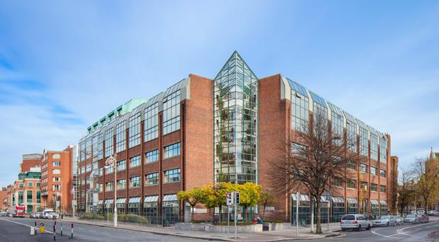 Knight Frank is guiding €16m for One Earlsfort Terrace in Dublin 2