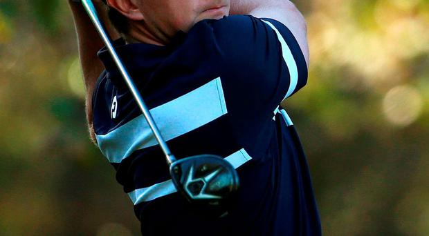 Paul Dunne in action during the fifth round of the European Tour Qualifying School Final at the PGA Catalunya Resort where the Greystones golfer recorded a 69 to stay on course for one of the 25 Tour cards