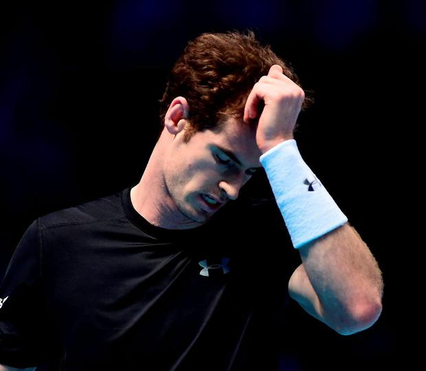 Andy Murray gave himself a mid-match haircut during his clash with Rafael Nadal in the ATP World Tour Finals