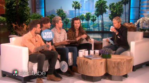 One Direction on the Ellen Show