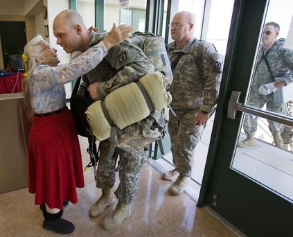 3/10/10 Ralph Barrera/AMERICAN-STATESMAN; Elizabeth Laird, 77, is know on the base of Ft. Hood as the