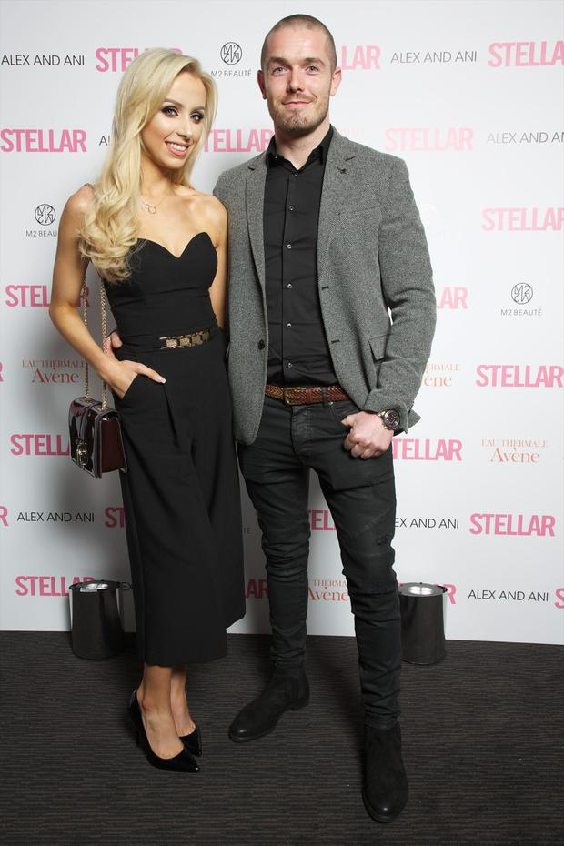 Rosie Connolly and Paul Quinn at the Stellar Shine Awards
