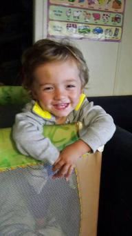 Roman Campbell (2) who died in a house fire Credit:Facebook/Logan House Fire Support Network