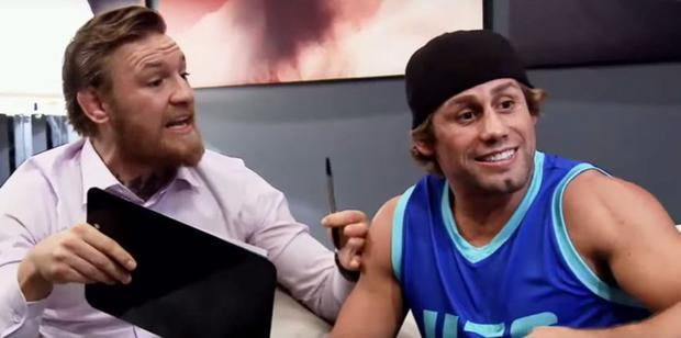 Conor McGregor wanted to fight Urijah Faber at UFC Dublin to warm-up for Jose Aldo
