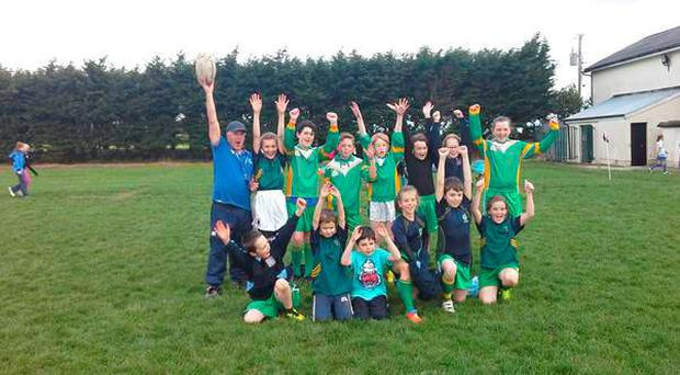 Arklow tag tournament was a roaring success with 16 local primary schools showing off their skills