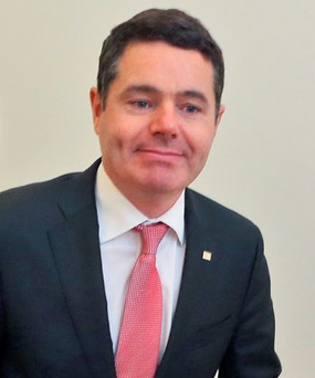 Minster for Transport, Tourism and Sport, Paschal Donohoe