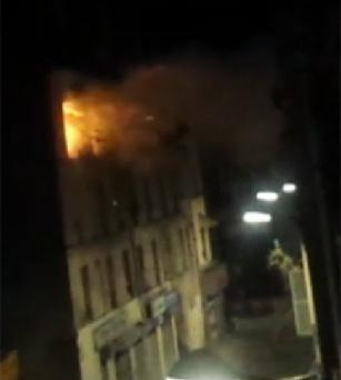 The dramatic footage from Saint-Denis