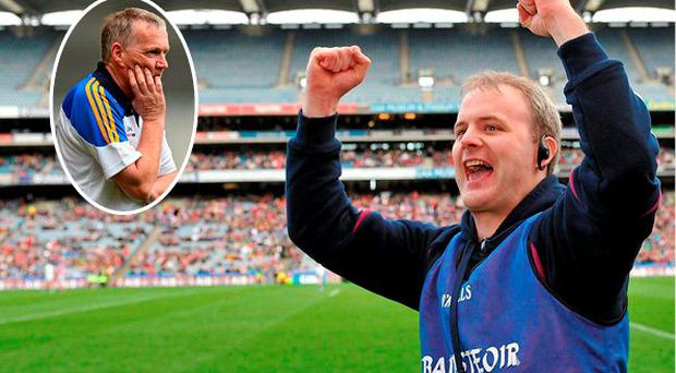 Micheál Donoghue is favourite to land Galway job while Eamon O'Shea (inset) has ruled himself out
