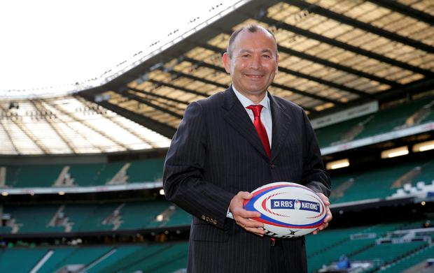 New England head coach Eddie Jones poses at Twickenham Action Images via Reuters / Henry Browne Livepic EDITORIAL USE ONLY.