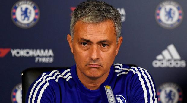 Chelsea manager Jose Mourinho during the press conference today Action Images via Reuters / Alan Walter