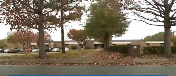 The thieves dropped him off at this elementary school Credit:YouTube/WAVY10