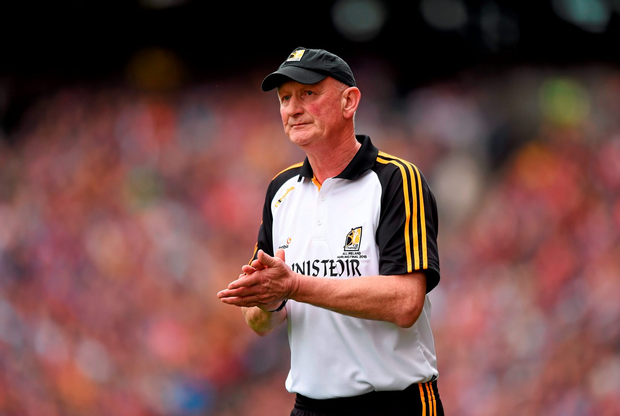 'While Mick O'Dwyer and Brian Cody (pictured) can infinitely wave their magic wand on the sideline, inside the white lines you have an expiry date'
