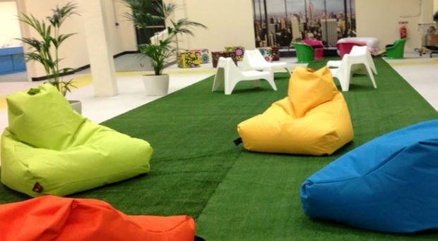 The recreational space at Bru Aimsir