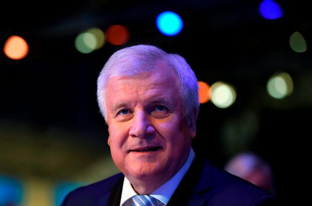Horst Seehofer, party leader of the Christian Social Union Party (CSU) and Bavarian State Premier Credit: Christof Stache (AFP/Getty Images)