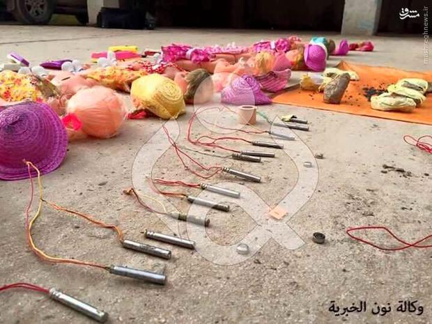 Some 18 doll-bombs were disarmed Credit: Kuwait News