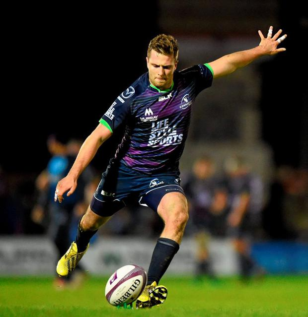 Connacht's Jack Carty kicked two penalties and created the opening try with a crossfield kick