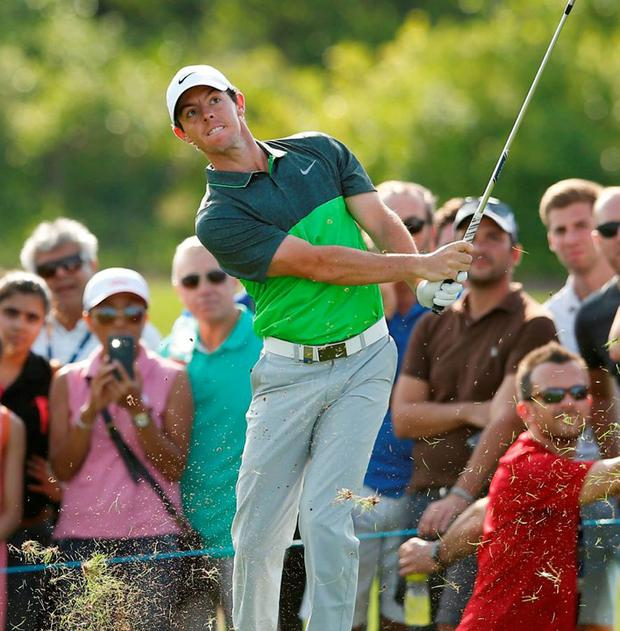 Rory McIlroy: 'I feel it could have been a lot better today. I'm playing lovely and if this had been the final round I'd be kicking myself'