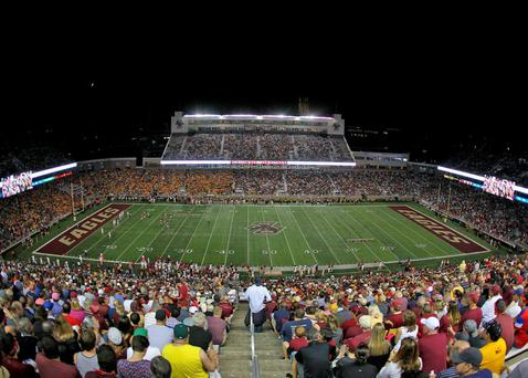 College football is huge in the United States and the target for next September's game in Dublin between Boston College and Georgia Tech is 25,000 visitors from overseas