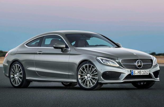 SLEEK: Mercedes Benz's C-Class Coupe is designed superbly